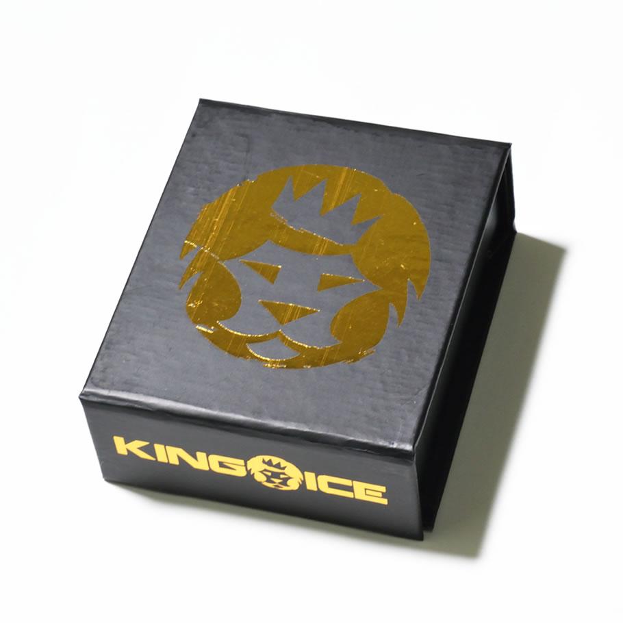 KINGICE キングアイス ネックレス ゴールド 14金 5mm 14K Gold Moon Cut Cuban Chain KIAT069