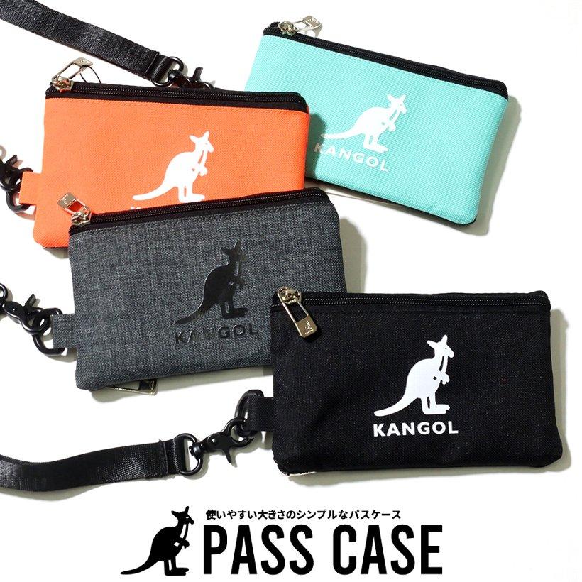 detailed look 29fea 72668 KANGOL カンゴール パスケース ウォレット バック メンズ レディース ストリート系 カジュアル ファッション KGSA-BG00077 鞄 通販