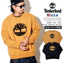 Timberland ティンバーランド トレーナー メンズ 大きいサイズ ロゴ CREW NECK ストリート系 カジュアル ファッション TB0A1OHP 服 通販