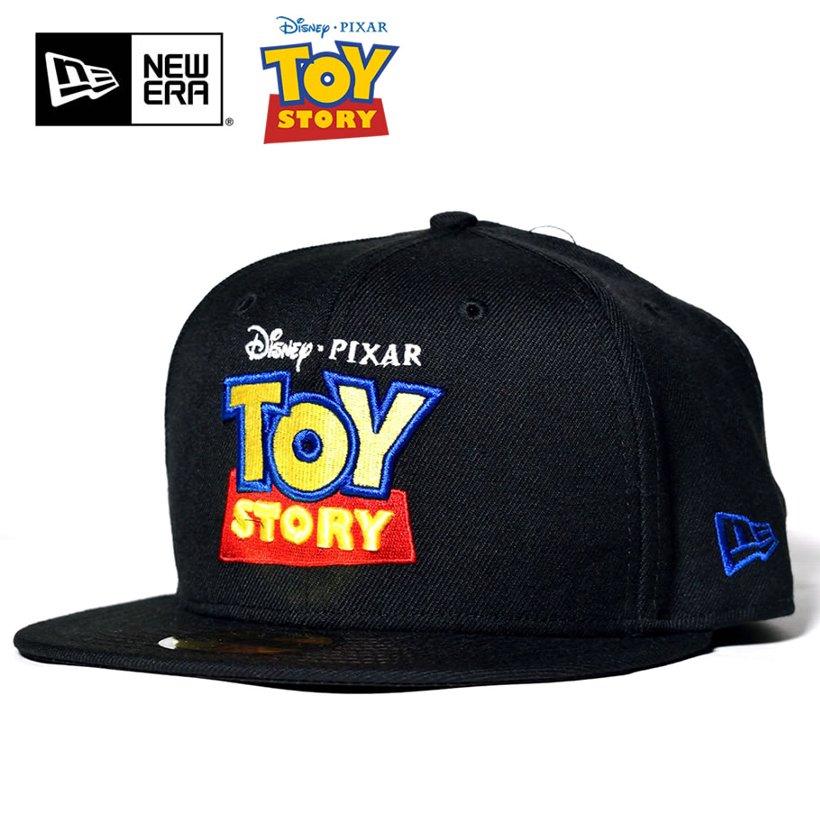 727cdecb328 ニューエラ トイストーリー NEWERA 59FIFTY TOY STORY Title Logo ブラック 11226427 B系 ストリート系